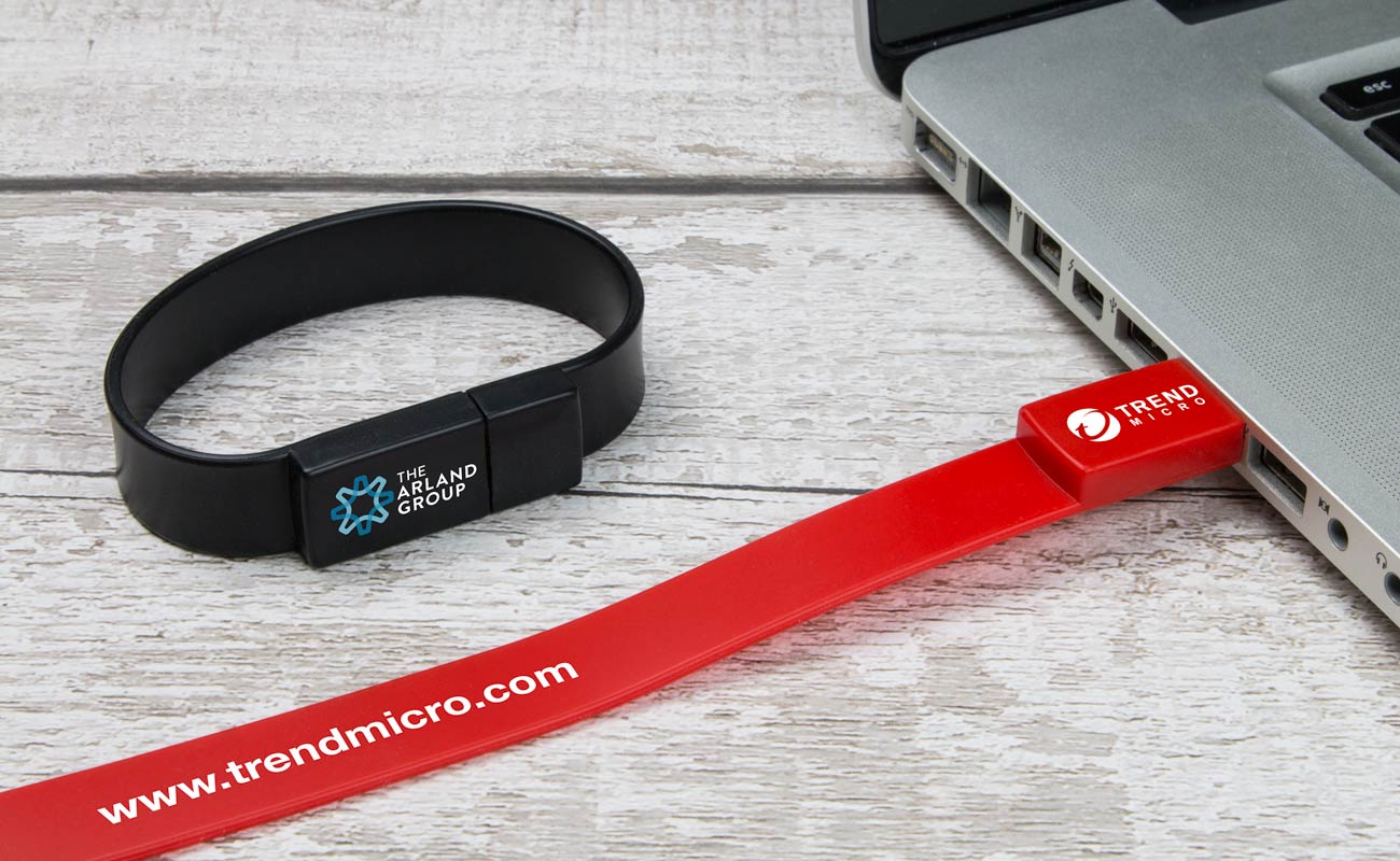 Lizzard - Customize USB Wristbands
