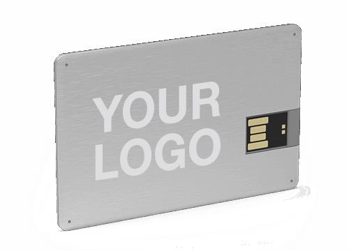 Alloy - Credit Card Thumb Drive