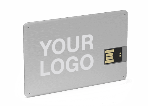 Alloy - Credit Card Thumb Drive