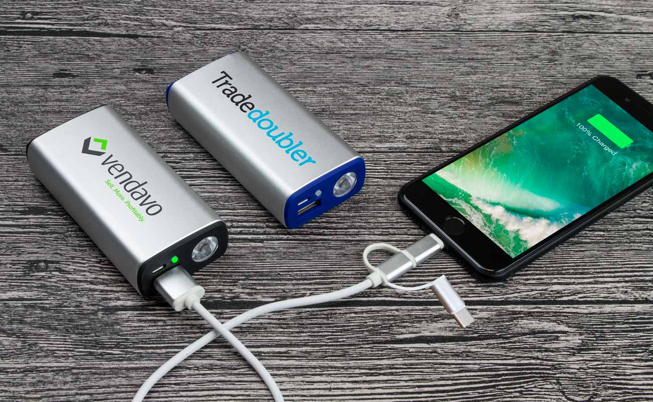 Encore - Logo Branded Power Bank