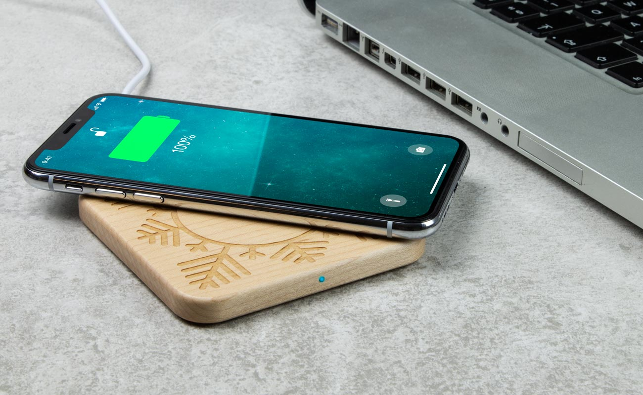 Forest Christmas - Personalized Wireless Charger