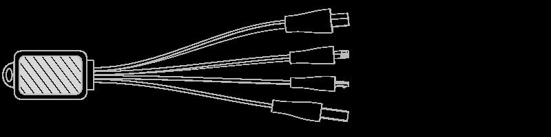 Keyring Cable  Photo Printing