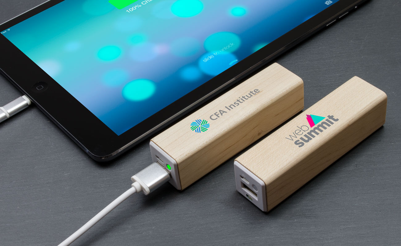 Maple - Logo Branded Power Bank