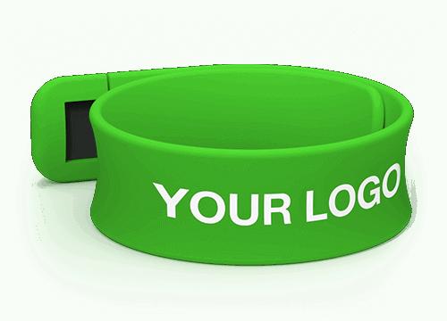 Slap - Customize USB Wristbands